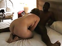 Mature housewife gets fucks and sucks BBC while hubby tapes