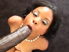 Hot Black Slut POV BBC By The Pool