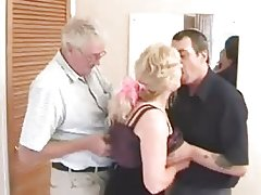 The Swinger Mature Couple With A Friend