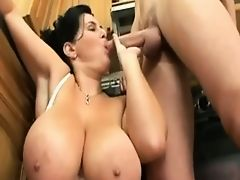German Big Boobs Mom
